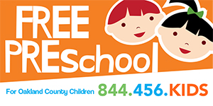 Free Preschool for Oakland County Children