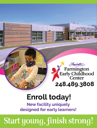 Enroll Today - Early Childhood Programs