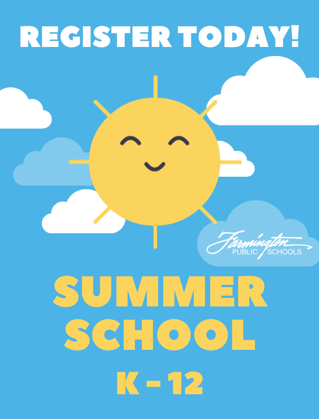 Summer School K-12 - Register Today