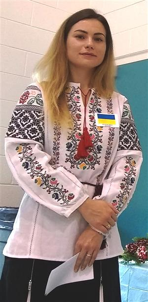 4th Annual Adult ESL Cultural Thanksgiving Day Celebration--Ukraine