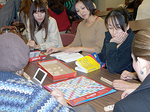 Adults learning English as their second language