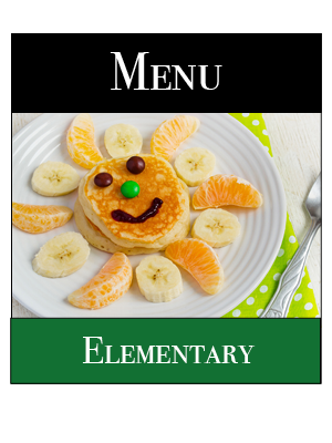 Elementary Breakfast Menu