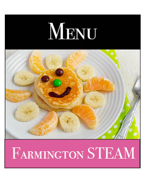 STEAM Breakfast Menu