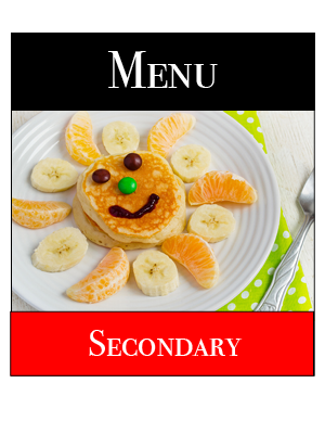 Secondary Breakfast Menu