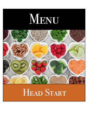 Head Start Lunch Menu