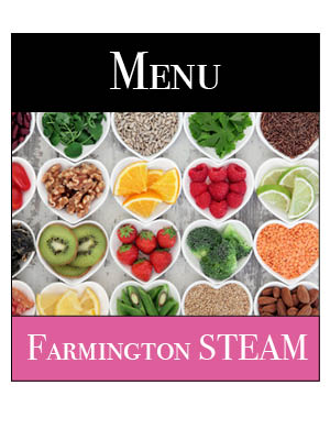 Farmington STEAM Lunch Menu