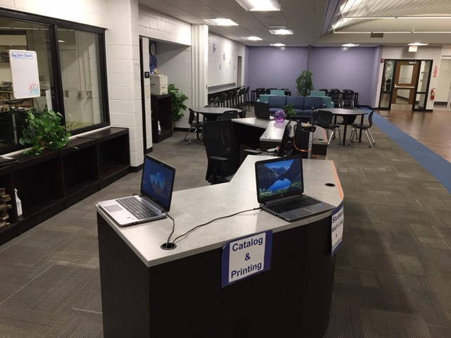 Photo of Media Center Computer Area